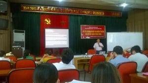 (Hình ảnh: Lớp học quản lý dự án tại thành phố Hồ Chí Minh)