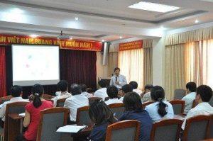 Lớp học lâp dự toán tại Hà Nội
