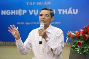 Thạc sỹ Nguyễn Xuân Đào say sưa giảng về Luật Đấu thầu số 43
