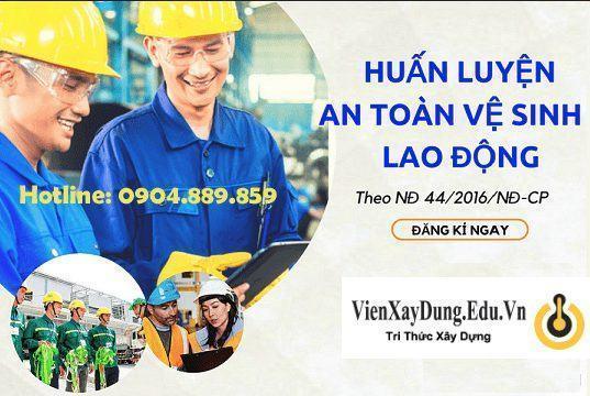 Đào tạo an toàn lao động nghị định 44