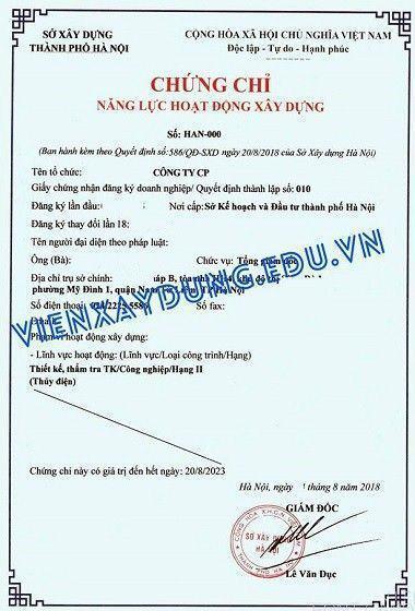 Chung Chi Nang Luc Sxd Ha Noi
